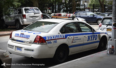 2008 NYPD Impala 7840 (1st Precinct Auxiliary) (nyfrp) Tags: nyc ny new york newyorkcity manhattan midtown downtown world trade center tribeca west village greenwich 1st precinct nypd police department car crown victoria chevy impala chevrolet tahoe fpiu ford interceptor utility explorer ambulance hospital lights responding dhs homeland security fps