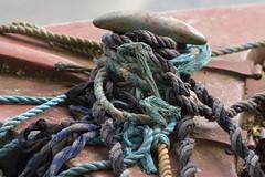 KnotComplex (Tony Tooth) Tags: nikon d7100 nikkor 105mm knot rope ropes narrowboat mess buglawton macclesfieldcanal cheshire