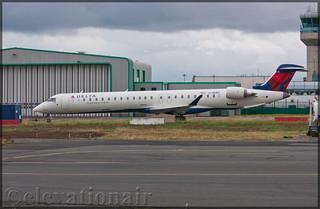 C-GIAU Bombardier CRJ-900LR Delta Connection
