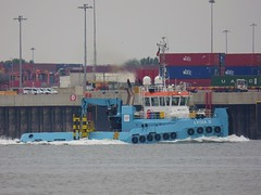 Lydia D (das boot 160) Tags: lydiad tugs towage towing ships sea ship river rivermersey port docks docking dock boats boat mersey merseyshipping maritime