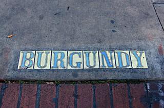 The Corner of Burgundy