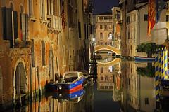 The Italian Job (Venice, Veneto, Italy) (AndreaPucci) Tags: venice venezia veneto italy italia andreapucci canal night