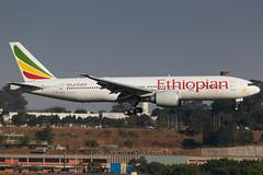ET-ANR (rcspotting) Tags: etanr boeing 777200 ethiopian airlines gru sbgr