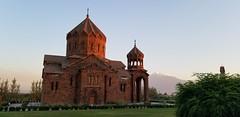 St.Hovhannes Church (Alexanyan) Tags: արտաշատ քաղաք սուրբ հովհաննես ավետարանիչ եկեղեցի saint hovhannes armenian apostolic church eglise kirche chiesa armenia ararat province mountain masis