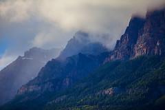Cloudy Peaks (stevenbulman44) Tags: banff alberta summer 70200f28l filter polarizer cloud mountain peak landscape outdoor sky color