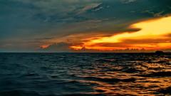 Seascape sunset (gerard eder) Tags: world travel reise viajes asia southeastasia thailand phuket southernthailad andamansea sea seascape sunset atardecer sonnenuntergang puestadesol clouds wolken nubes wasser water waves outdoor