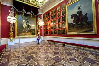 Military Gallery, Hermitage, St Petersburg, Russia