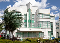 Hoover Building Canteen-1 (Paul Dykes) Tags: perivale england unitedkingdom gb uk artdeco architecture egyptian hooverbuilding canteen