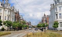 De Lijn 7272 Cogels-Osylei Antwerpen (eddespan (Edwin)) Tags: tram tramway tramvaj streetcar strasenbahn strassenbahn trolley delijn antwerpen vlaanderen belgië cogelsosylei