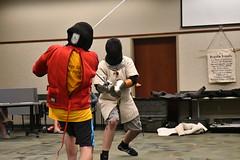 Evan Fusco Prize Play (efusco) Tags: hema medieval sword fighting long basket hilt staff free scholar bramble
