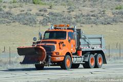 Utah DOT Sterling Plow Truck (Trucks, Buses, & Trains by granitefan713) Tags: truck bigtruck heavyduty dumptruck enddump sterling plowtruck snowplow tandem utah utahdot sterlingtruck