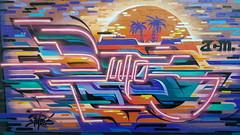 Putos... (colourourcity) Tags: melbourne burncity colourourcity nofilters awesome streetart streetartaustralia streetartnow graffitimelbourne graffiti putos acm artcrushmob tropics burner