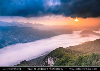 Slovenia - Julian Alps - Triglavski NP & Bohinj Lake at Sunrise