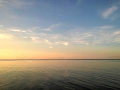 some water (Vadim Beldiy) Tags: water ocean river sunset skyline landscape landschaft landscapesdreams landscapesworld bluesky nokialumia925 nokialumia carlzeisspureview minimalism minimalisme minimalmood