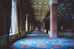 as.memory.fades (jonathancastellino) Tags: toronto architecture hotel empty memory leica m pollar window shadow light drapes drape carpet pattern ryh