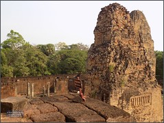 Angkor, Pre Rup Be Careful! 20180203_092853 DSCN2573 (CanadaGood) Tags: asia seasia asean cambodia siemreap angkor prerup temple building architecture archaeology people person tree canadagood 2018 thisdecade color colour hindu khmer
