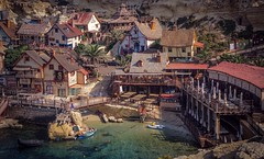 Popeye Village, also known as Sweethaven Village (Ula P) Tags: popeye malta village colorful sony sonyalpha explore