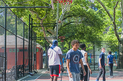 1358_0212FL (davidben33) Tags: brooklyn ny crown height summer 2018 park sport basketball people children 718 plaj joi trees bushes sporting field