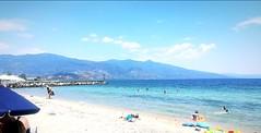 🌅 (__jo_) Tags: greece hellas greeksummer greek blue sun hot shine seaside sea sealife beach beachlife beachbar sky skyporn summer summervibes