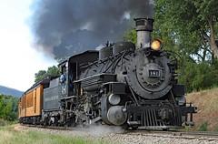 United Campground of Durango (jterry618) Tags: durangosilvertonnarrowgaugerailroad durango colorado steamlocomotive railroad train engine car steam