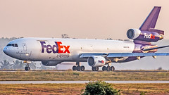 Federal Express McDonnell Douglas MD-11F N612FE Bangalore (BLR/VOBL) (Aiel) Tags: federalexpress fedex mcdonnelldouglas md11 md11f n612fe bangalore bengaluru canon60d tamron70300vc