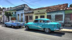 CUBA Cienfuegos (stega60) Tags: cuba cienfuegos coches calle azul viejo oldtimers oldcars cars hdr stega60