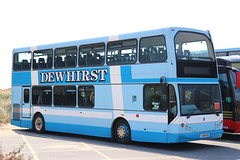 Dewhirst Coaches, Bradford YJ04HSD in St Annes. (Gobbiner) Tags: dewhirstcoaches yj04hsd eastlancs stannes myllennium bradford lowlander daf