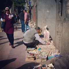 People buying books (shaimaa sayed) Tags: egypt books mobilephoto cairo