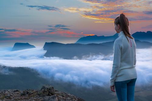 Midnattståken fra Sollifjellet