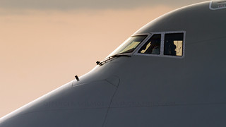Boeing 747-8 Flightdeck.
