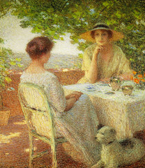 Ernest Laurent - Two Women on the Terrace, 1922 at National Museum of Western Art - Tokyo Japan (mbell1975) Tags: taitōku tōkyōto japan jp ernest laurent two women terrace 1922 national museum western art tokyo nmwa museo musée musee muzeum museu musum müze museet finearts fine arts gallery gallerie beauxarts beaux galleria painting french portrait impression impressionist impressionism