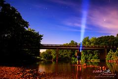 Long Exposure Selfie (1300 Photography) Tags: nikon d750 20mm affinity bridge nightphotography nightsky longexposure selfie lightpainting