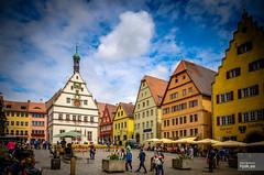 Marktplatz (hjakse) Tags: rothenburg tauber germany deutschland tyskland brd bayern bavaria marktplatz