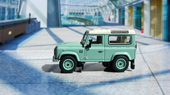 1:76 Scale Diecast Model Land Rover Defender 90 Heritage By Oxford Diecast Limited Swansea Wales United Kingdom 2017 : Diorama GT4 Showroom - 5 Of 14 (Kelvin64) Tags: 176 scale diecast model land rover defender 90 heritage by oxford limited swansea wales united kingdom 2017 diorama gt4 showroom