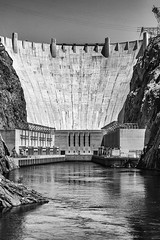 Hoover Dam (James Marvin Phelps) Tags: nevada arizona hooverdam blackcanyon coloradoriver blackandwhite jamesmarvinphelps jamesmarvinphelpsphotography
