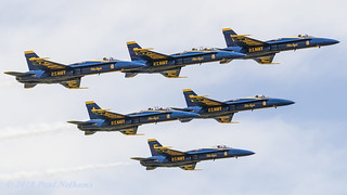 Blue Angels at Airventure 2018