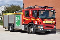 Humberside - YJ59CCU - Brough - WrL (matthewleggott) Tags: humberside fire rescue service engine appliance brough yj59ccu wrl water ladder