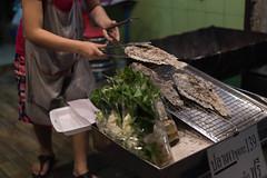 Grilled Fish Street Food (VictorLK) Tags: streetfood bangkok streetvendor fish urban thailand streetfoodbangkok southeastasia asia nikon 50mm