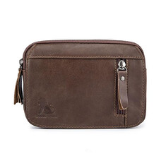 Men Genuine Leather Vintage 6in Outdoor Small Belt Phone Pouch Fanny Bum Waist Bag Pack (1211943) #Banggood (SuperDeals.BG) Tags: superdeals banggood bags shoes men genuine leather vintage 6in outdoor small belt phone pouch fanny bum waist bag pack 1211943