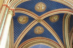Church of Saint-Germain-des-Prés (carolyngifford) Tags: saintgermaindesprés church eglise paris vaulting decoration