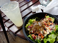 Salad and Margarita (moacirdsp) Tags: salad margarita cantina de san ángel mexico pavilion world showcase epcot walt disney florida usa 2018