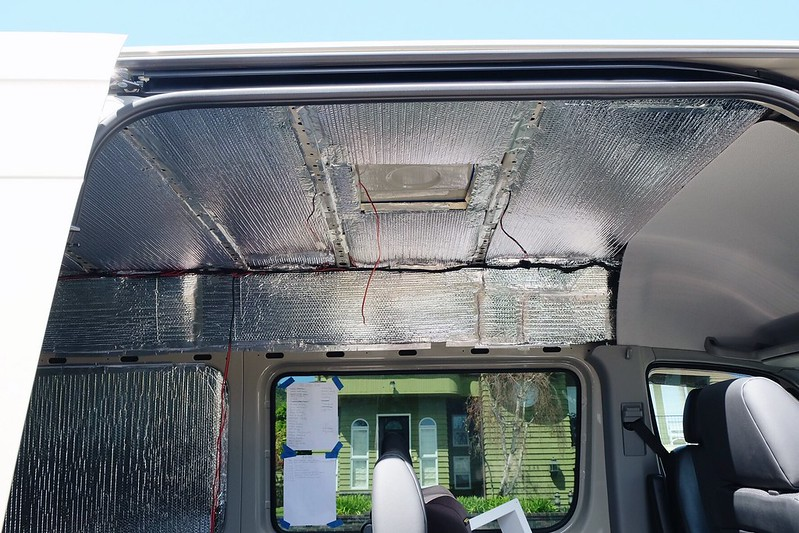 Sprinter Van Build day 9 041618