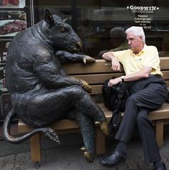 Shootin' the Bull in Tallinn (Bill in DC) Tags: estonia tallinn rssv 2014 restaurants goodwins us