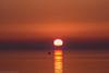 Red Sky in the Morning (katrin glaesmann) Tags: timmendorferstrand ostsee schleswigholstein balticsea bayoflübeck lübeckerbucht sunrise fishingboat sleswickholsatia derechtenorden therealnorth silhouette reflection