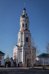 The Trinity-Scanov Monastery (Oleg.A) Tags: sunny landscape russia church nature outdoor viewpoint countryside trinityscanovmonastery narovchat bell monastery orthodox cross building park cathedral spring penzaregion villiage catedral convent landscapes outdoors penzenskayaoblast ru
