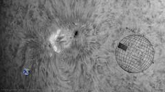 2018.04.21 AR 2706 à 12h27 TU (Jorge - Barata) Tags: soleil spot sun skywatcher filaments baader basleraca1920150 baratajorge régionsactives sw1501200 halpha daystar derf quark