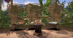 Your new outdoor set (Sannita_Cortes) Tags: aphroditehearthomes aphroditeshop hearthomes decorating decoration furniture furnituredecor garden home secondlife sl virtualworld virtual