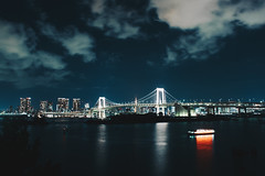 _MG_6793 (waychen_c) Tags: japan tokyo minatoku odaiba rainbowbridge night nightview nightscape cityscape skyline bridge boat yakatabune 日本 東京 港区 台場 お台場 御台場 レインボーブリッジ やかたぶね 2017東京旅行