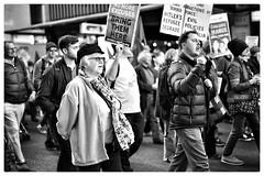 No more excuses (gro57074@bigpond.net.au) Tags: evacuatemanus manusisland bringthemhere cbd sydney refugees demonstrators protestmarch protest asylumseekers 50mmf14 artseries sigma d850 nikon bw monochrome blackandwhite nomoreexcuses