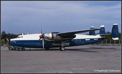 G-ALZZ / BSL 1968 (propfreak) Tags: propfreak propfreakcollection slidescan lfsb bsl basel mulhouse galzz airspeed as57 ambassador skywayscoachair autair bea britisheuropeanairways overseasaviationltd